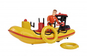 Simba Fireman Sam Neptune Speed Boat with Figurine