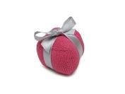 Estella Hand Knit Organic Gift Rattle Baby Toys, Blue
