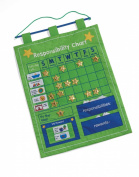 Responsibility and Reward Chart - Children's Chore Chart by One Step Ahead