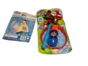 Dip Twirl bubble spin wheel & beach balls 2/pk