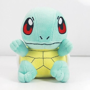 """Pokemon Squirtle/Zenigame Rare Soft Plush Toy Doll 6."""" Blue"""