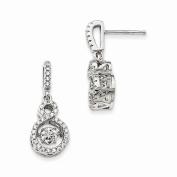 Jewellery Best Seller Sterling Silver & Vibrant CZ Brilliant Embers Earrings