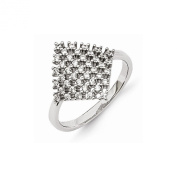 Top 10 Jewellery Gift Sterling Silver & CZ Brilliant Embers Ring