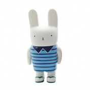 Baidecor PVC Rabbit Blue Money Box Piggy Bank