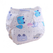 Creazy® 1pc Cute Baby Cotton Training Pants Reusable Infants Nappies Nappies