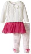 Blueberi Boulevard Baby-Girls Infant Tulle Sweater Dress