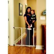 Premium White Baby Safety Gate