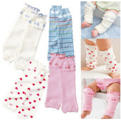 Heart Love 4 Pack Babies and Toddlers Leg Warmers
