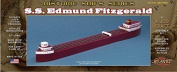 S.S. Edmund Fitzgerald Wooden Craft Kit Atlantis Toy and Hobby
