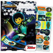 Disney Miles From Tomorrowland Colouring and Activity Book with Stickers
