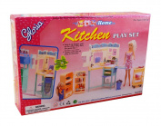 Luxurious Barbie Doll House Living Room Furniture Set-Kitchen