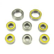 Traxxas 4x4 Slash Hybrid Ceramic Wheel Hub Bearings 5x11x4mm-10x15x4mm YE