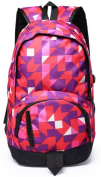 High Class Double Shoulders Backpack Camouflage Picture