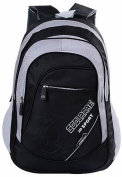 Cartoon Nylon Double Shoulders Backpack Nice for High Grade Students
