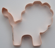 Simple 10cm Lion Cookie Cutter