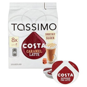 Tassimo Costa Caramel Latte 8 per pack