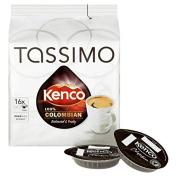 Tassimo Kenco 100% Colombian 16 per pack