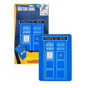 Dr Who - Doctor Who TARDIS Cutting Board - Flexible Silicone, with Non-Slip Base