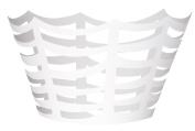 Die Cut White Spider Web Halloween Cupcake Wrappers, 12ct
