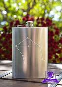 Libra Constellation 240ml Stainless Steel Flask