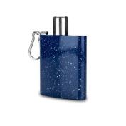 Foster & Rye Enamel Carabiner Flask, Blue