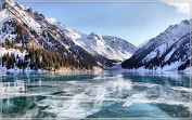 Alpes-mountains-blue-sky-clouds-grass-forest-autumn tourism scenery features creative tourism souvenirs Magnetic fridge magnet