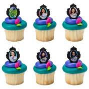 24 Disney Descendants Cupcake Rings