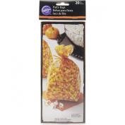 Wilton 1912-0445 Candy Corn Standard Party Bags, Assorted