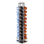 Nespresso Coffee Capsules Holder Carousel. Holds 40 Nespresso Pods (Coffee pods are not included). Chrome