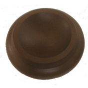 Hardwood Piano Caster Cups, Set of 3 - Walnut