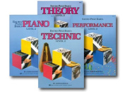 Bastien Piano Basics Level 2 - Learn to Play Four Book Set - Includes Level 2 Piano, Theory, Technic, and Performance Books