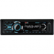 Boss Audio Boss MR1308UABK MP3 Compatible Bluetooth Solid State AM/FM Receiver, USB/SD, AUX-Input