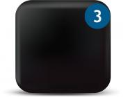 WebCam Cover Solid Black 3 Pack