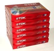 TDK Superior Normal Bias D90 blank cassette tapes