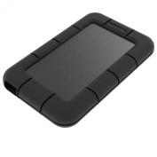 Sabrent USB 3.0 to SSD / 6.4cm SATA External Shockproof Aluminium Hard Drive Enclosure [Support UASP SATA III] Black