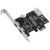 SEDNA - PCI-Express IEEE 1394b FireWire 3 Port Controller Card