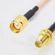 "20""/50cm Male to Female RP-SMA Extension Cable"