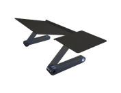 Uncaged Ergonomics Keyboard Tray & Mouse Pad, Adjustable Ergonomic Computer Keyboard Stand, Black