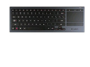 Logitech Illuminated Living-Room Wireless Keyboard K830 and Touchpad for Internet-Connected TVs