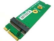 Sintech NGFF M.2 B+M Key SSD to 20+6Pin Adapter Card for Replace Sandisk SD5SG2 SSD of Lenovo X1 Carbon Ultrabook