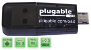 Plugable USB MicroSD Card Reader for Phone, Laptop, and Tablet Computers