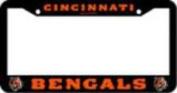 Cincinnati Bengals Official NFL 30cm x 15cm Plastic Licence Plate Frame by Rico Industries