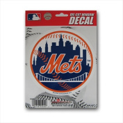 New York Mets Official MLB 13cm Die Cut Car Decal by Rico Industries