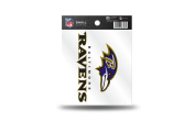 Baltimore Ravens Official NFL 8.9cm Small Static Cling Window Car Decal by Rico Industries