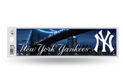 New York Yankees Official MLB 28cm x 7.6cm Bumper Sticker NY by Rico Industries
