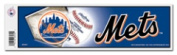 New York Mets Official MLB 28cm x 7.6cm Bumper Sticker NY by Rico Industries