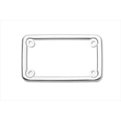 Cruiser Accessories 77000 Motorcycle Licence Plate Frame Elite, Stainless Steel