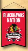 Chicago Blackhawks Official NHL 36cm X 60cm Team Nation Banner Flag by Winning Streak