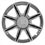 Pilot Automotive WH541-16C-BLK 8 Spoke 41cm . Wheel Cover - Chrome Black