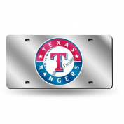 Texas Rangers Official MLB 30cm x 15cm Plastic Licence Plate by Rico Industries